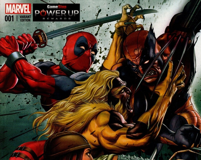 Death Of Wolverine #1 GameStop Greg Horn Variant Cover November 2014 Marvel Comics Grade NM