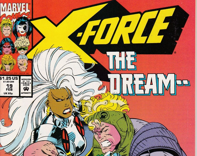 X-Force #19 (1991 1st Series)  February 1993  Marvel Comics  Grade NM