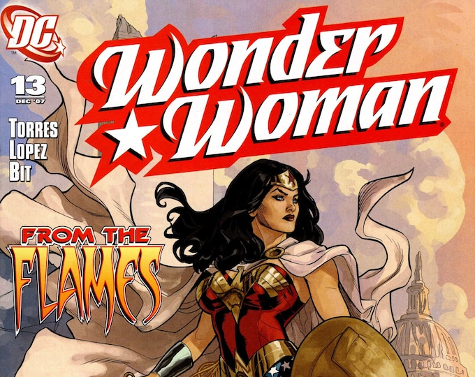 Wonder Woman #13 (From The Flames) December Issue  DC Comics  Grade NM