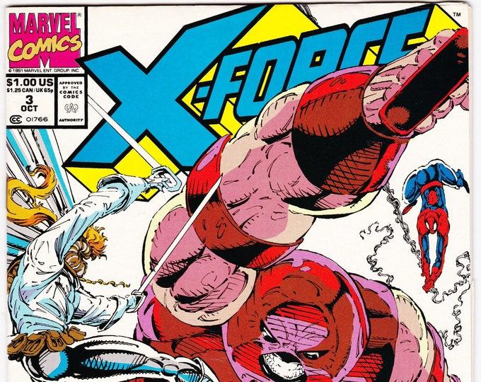 X-Force #3 (1st Series 1991) October 1991   Marvel Comics  Grade NM