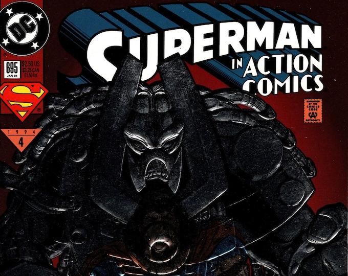 Action Comics #695  January 1995   DC Comics  Grade NM