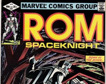 Rom #29   April 1982    Marvel Comics    Grade F/VF
