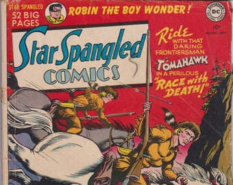 Star Spangled Comics #104 (1st Series 1941) May 1950   National Periodical Publications   Grade G/VG