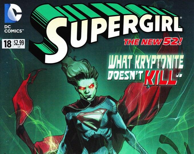 Supergirl #18 May 2013 DC Comics Grade NM