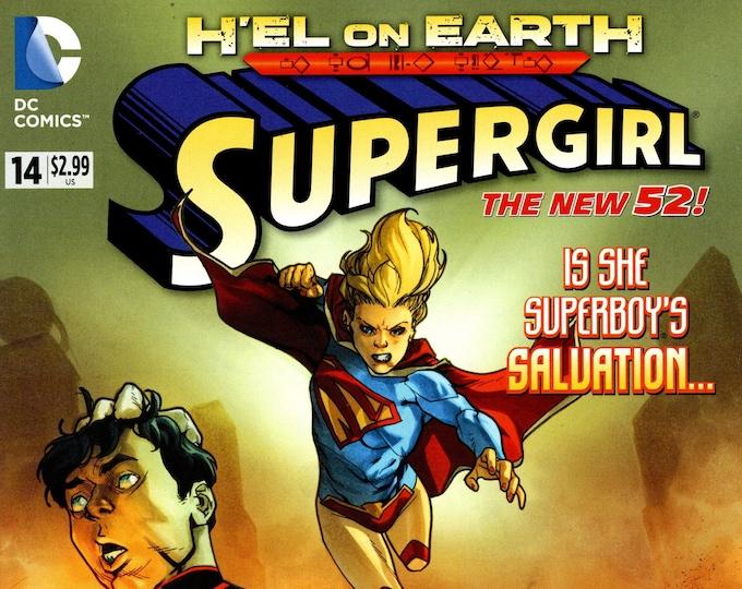 Supergirl #14 January 2013 DC Comics Grade NM