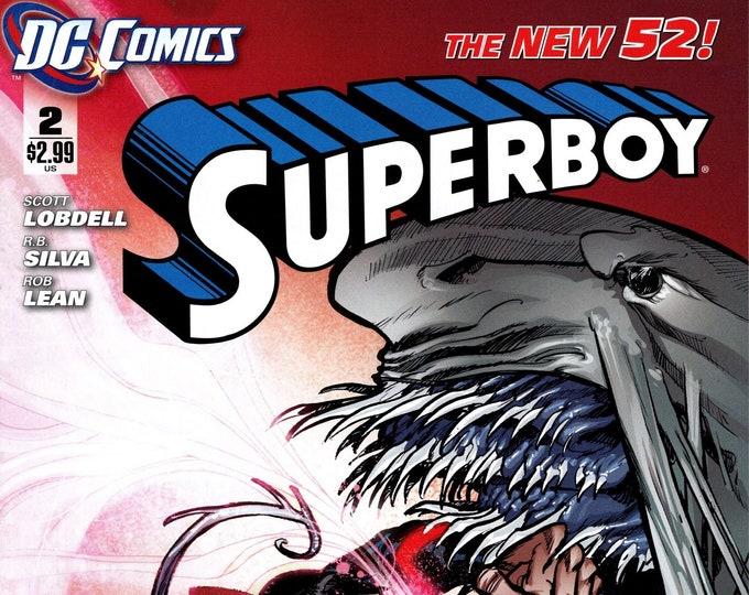 Superboy #2 December 2011 DC Comics  Grade NM