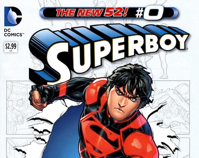 Superboy #0 November 2012 DC Comics  Grade NM