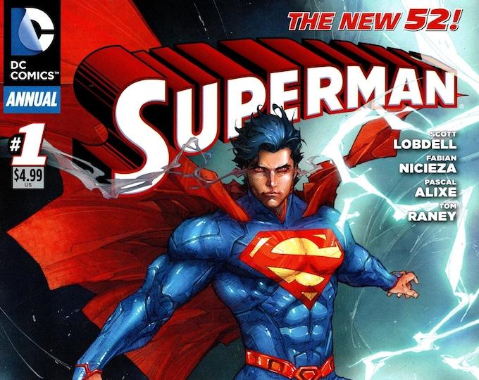 Superman Annual #1 October 2012 DC Comics Grade NM