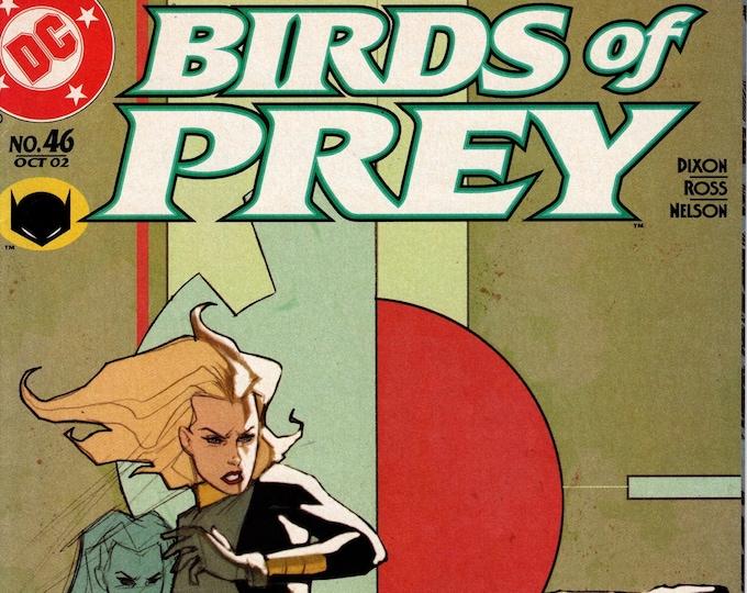 Birds of Prey #46 October 2002  DC Comics  Grade VF