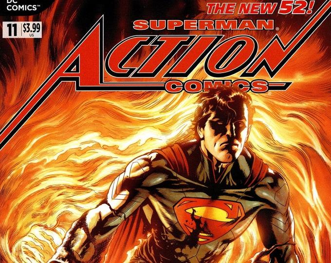 Action Comics #11  September Issue DC Comics Grade NM