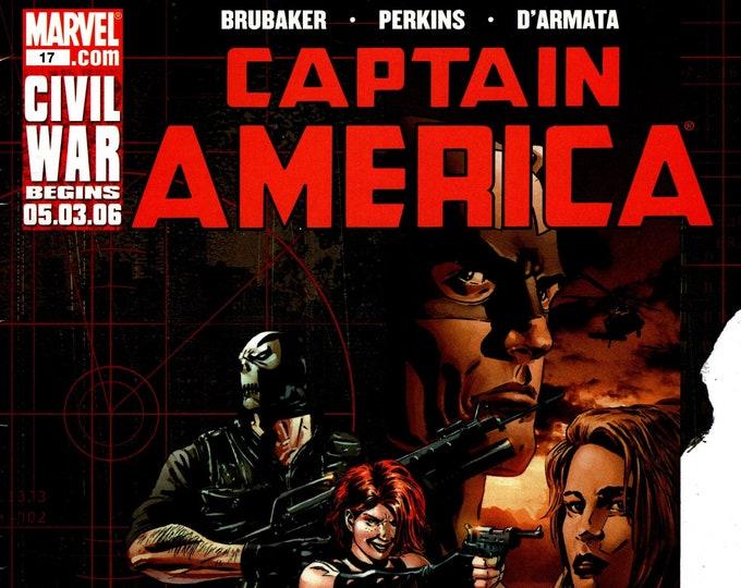 Captain America #17 (5th Series) June Issue  Marvel Comics  Grade VF