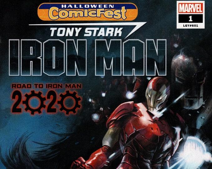 Tony Stark Iron Man #1 (Halloween ComicFest) October Issue Marvel Comics  Grade NM