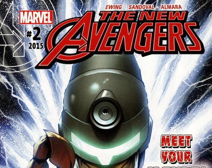 The New Avengers #2 December 2015 Marvel Comics  Grade NM