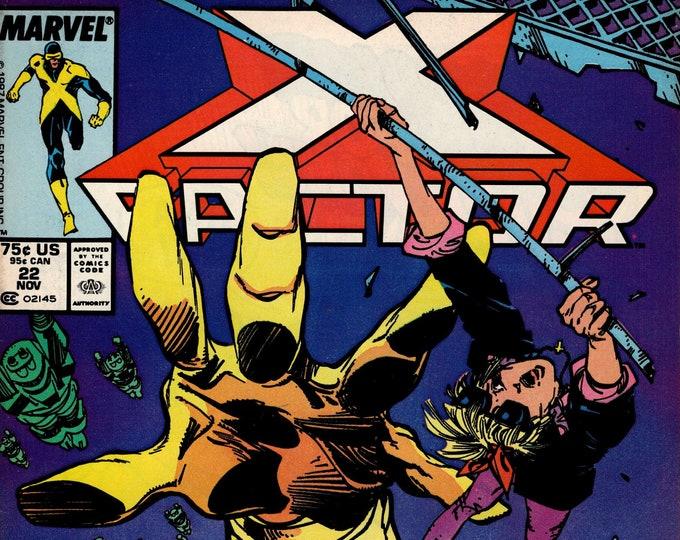 X-Factor #22 (1st Series 1986) November 1987  Marvel Comics   Grade F/VF