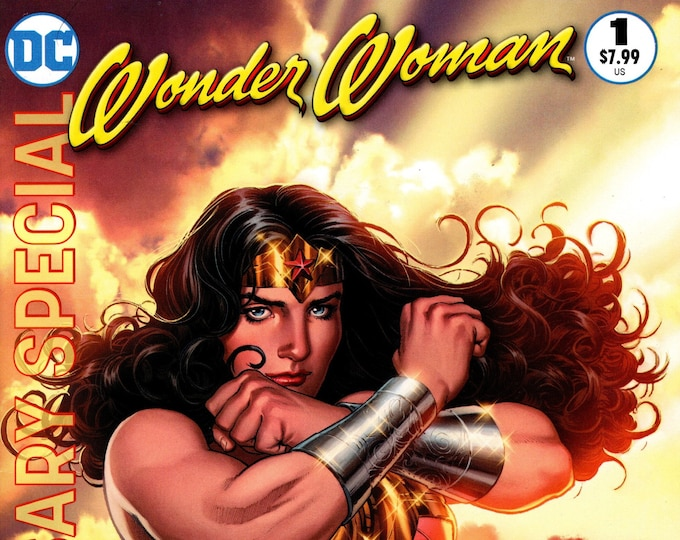Wonder Woman 75th Anniversary Special #1 Nicola Scott Variant Cover December Issue    DC Comics  Grade NM