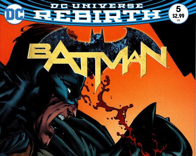 Batman #5 Cover B October 2016 DC Comics Grade NM
