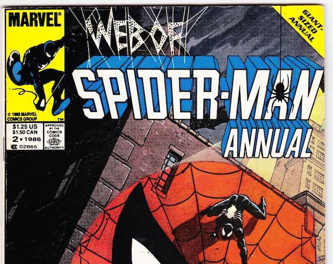 Web of Spider-Man Annual #2 (1st Series 1985) 1986  Marvel Comics  Grade Fine+