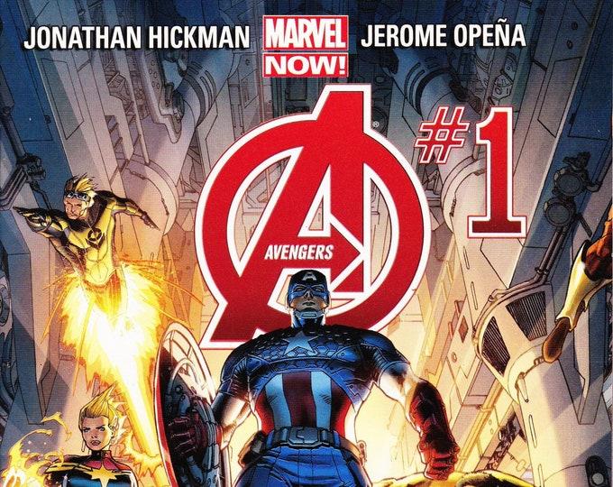 Avengers #1 Cover A  February 2013  Marvel Comics  Grade NM