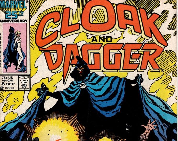 Cloak and Dagger #8 (1985 2nd Series) September 1986    Marvel Grade VG/F