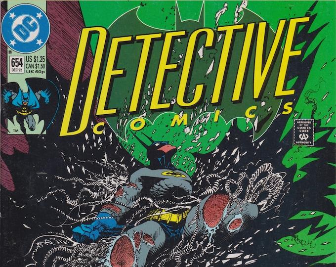 Detective Comics #654 (1937 1st Series) December 1992   DC Comics   Grade F/VF