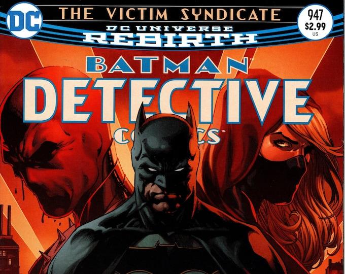 Detective Comics #947 Cover A February 2017 DC Comics Grade NM
