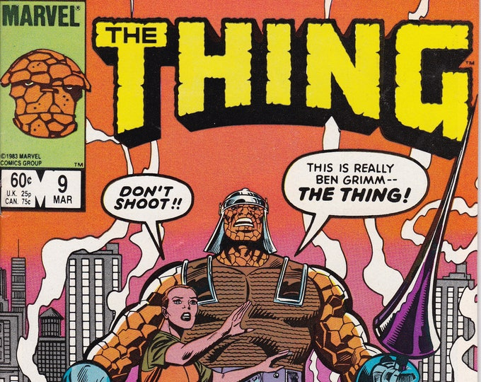 Thing #9 (1983-1986 1st Series) March 1984   Marvel Comics  Grade NM
