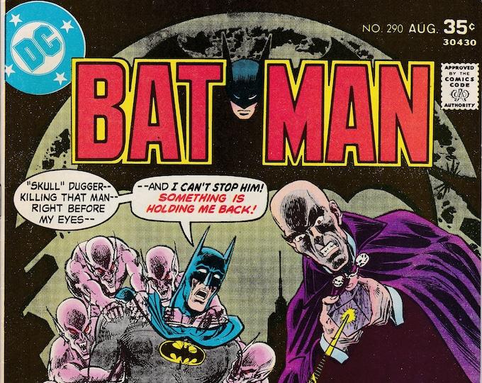 Batman #290  (1940 Series) August 1977   DC Comics   Grade F/VF