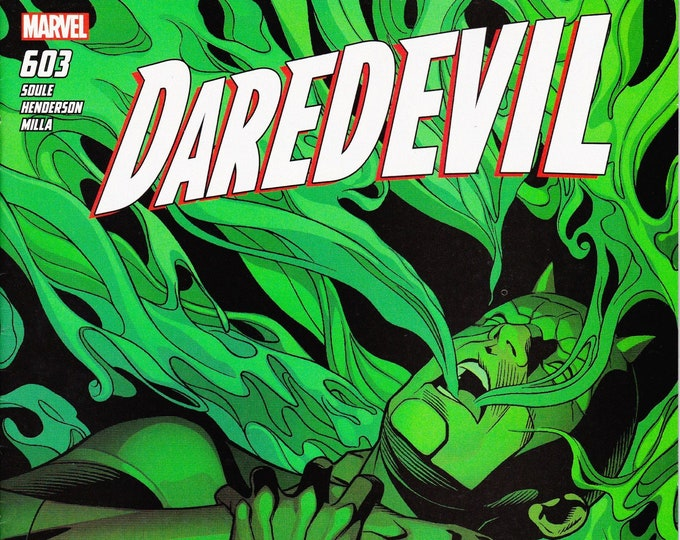 Daredevil #603 July Issue  Marvel Comics  Grade NM