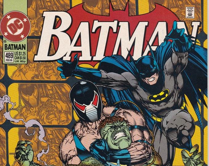 Batman #489 (1940) February 1993  DC Comics  Grade NM