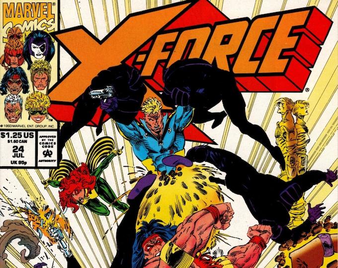 X-Force #24 (1991 1st Series)  July 1993  Marvel Comics  Grade NM