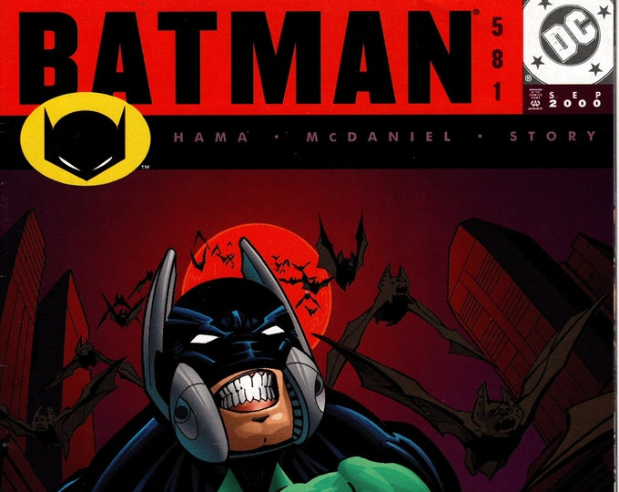 Batman #581 September 2000  DC Comics   Grade VF