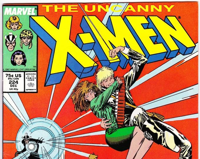 Uncanny X-Men #224   November 1987   Marvel Comics   Grade NM