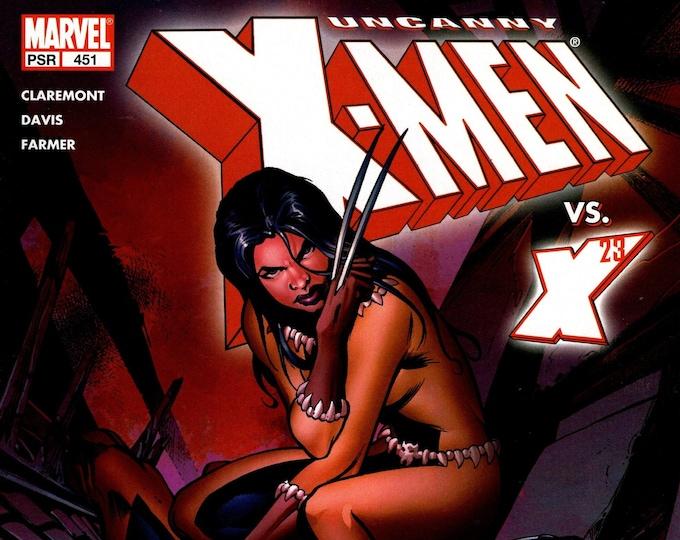 Uncanny X-Men #451 (The Cruelest Cut) December Issue  Marvel Comics  Grade NM