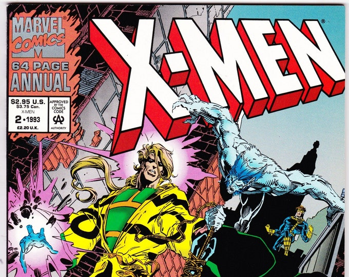 X-Men Annual #2U  (1st Series 1991) 1992    Marvel Comics    Grade NM