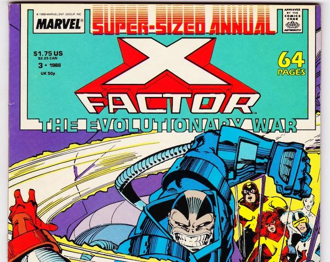 X-Factor Annual #3 (1st Series 1986)  Apr 1988  Marvel Comics  Grade VF/NM