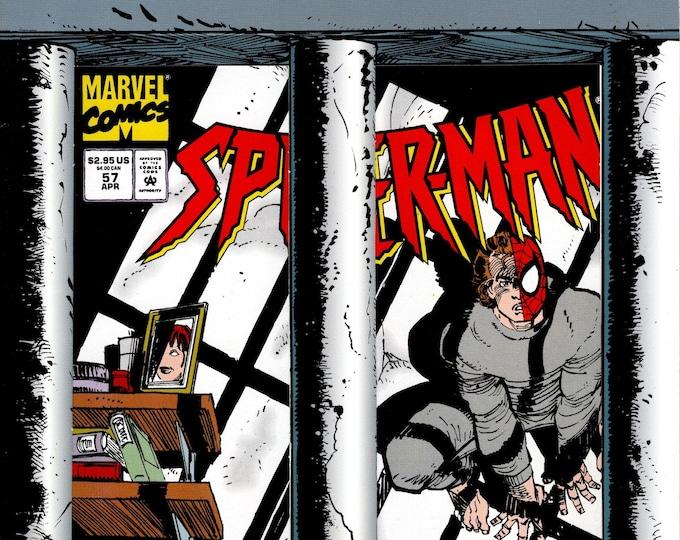 Spider-Man #57 (1990 Series) April 1995  Marvel Comics Grade NM