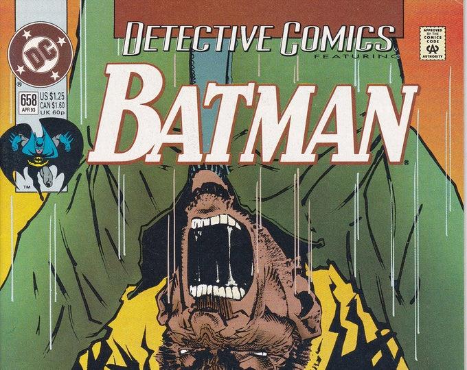 Detective Comics #658 (1937 1st Series)  April 1993  DC Comics  Grade NM