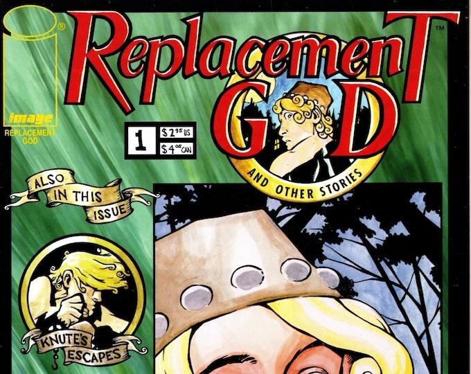 Replacement God #1 May 1997 Image Comics Grade VF