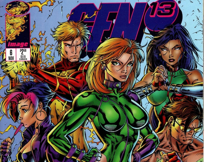 Gen 13 #6 (2nd Series 1995) November 1995   Image Comics  Grade NM