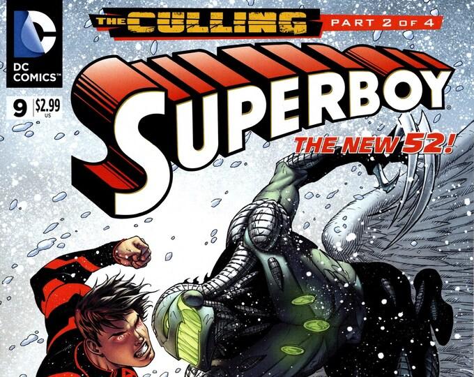 Superboy #9 July Issue  DC Comics  Grade NM