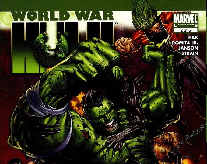 World War Hulk #2 September Issue Marvel Comics  Grade NM