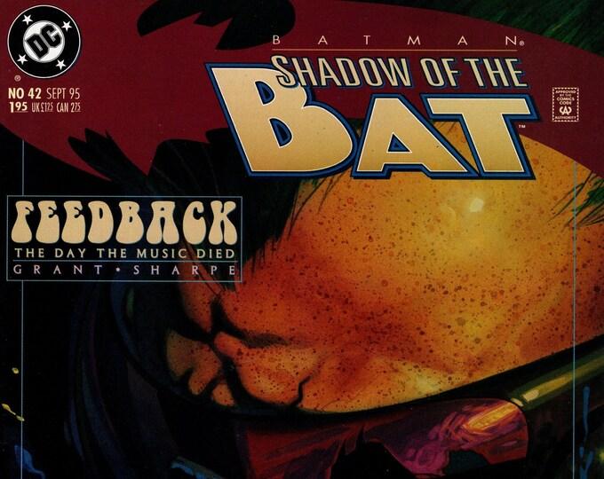 Batman Shadow of the Bat #42 September 1995    DC Comics   Grade NM