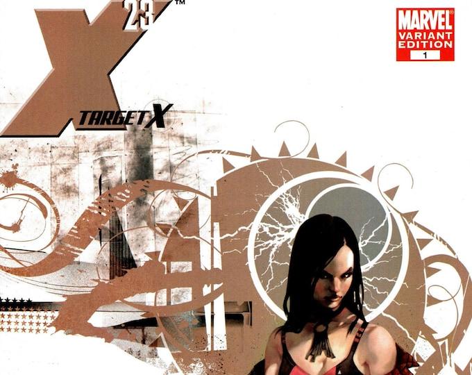 X-23 Target X #1 1/10 Mark Djurdjevic Variant Cover February 2007 Marvel Comics Grade NM