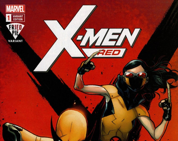 X-Men Red #1 Fried Pie Variant Cover April Issue Marvel Comics Grade NM