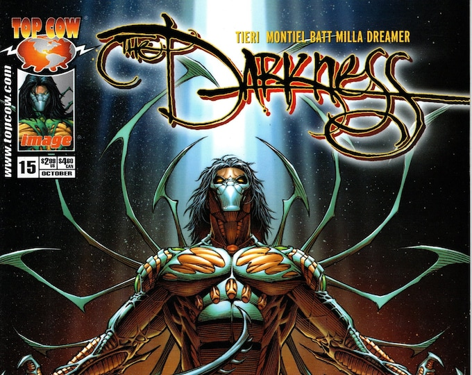 The Darkness #15 October Issue Top Cow Comics Grade NM
