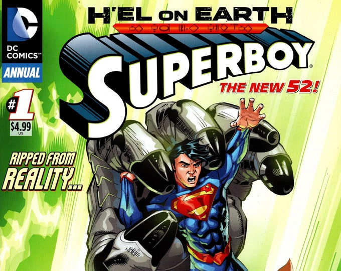 Superboy Annual #1 March Issue DC Comics  Grade NM