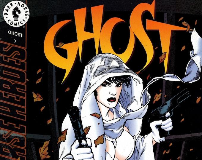 Ghost #7 (1st Series 1995) October 1995   Dark Horse Comics   Grade Fine