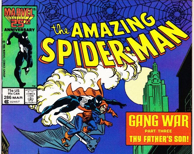 Amazing Spider-Man #286 (1st Series 1963) March 1987    Marvel Comics  Grade NM
