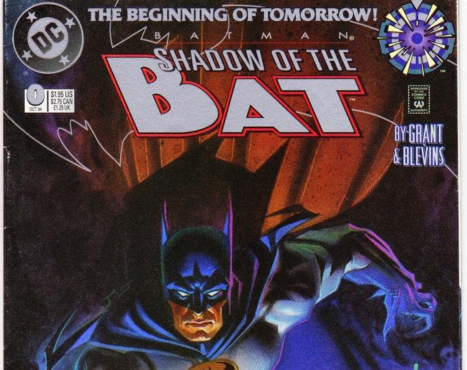 Batman Shadow of the Bat #0  October 1994   DC Comics  Grade NM