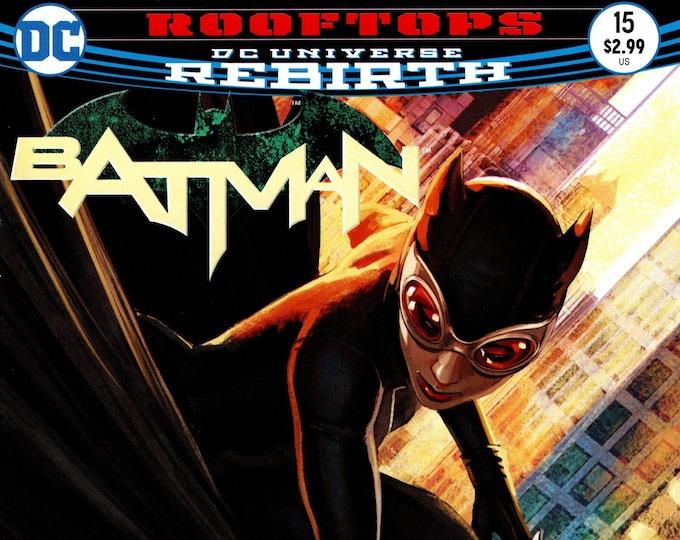 Batman #15 Cover A March 2017 DC Comics Grade NM